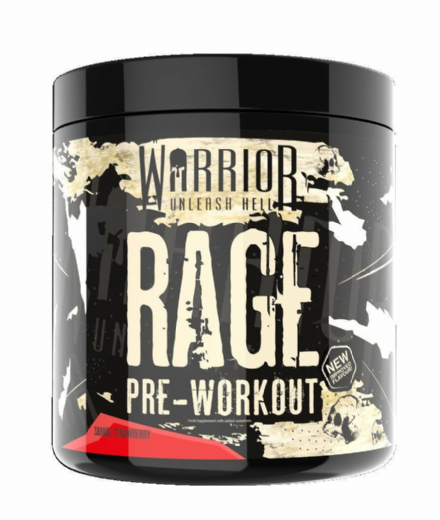 Warrior Rage Pre-Workout: 45 Servings; Muscle Pump; Improved Flavours